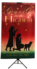 CHRISTMAS-Glory to God in the Highest (Shepards) Wall Banner