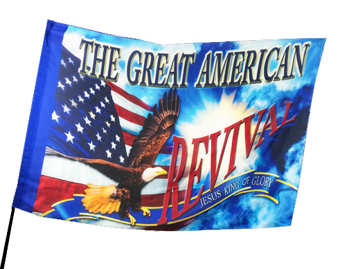 The Great American Revival Worship Flag