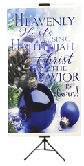 CHRISTMAS- Heavenly Host Vertical Banner