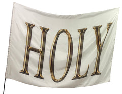 Holy (White) Worship Flag