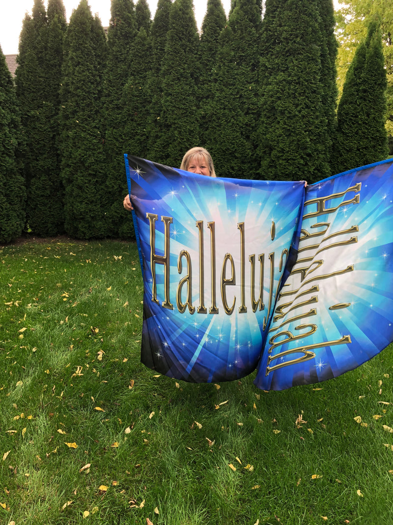 Hallelujah Wing Flag Set