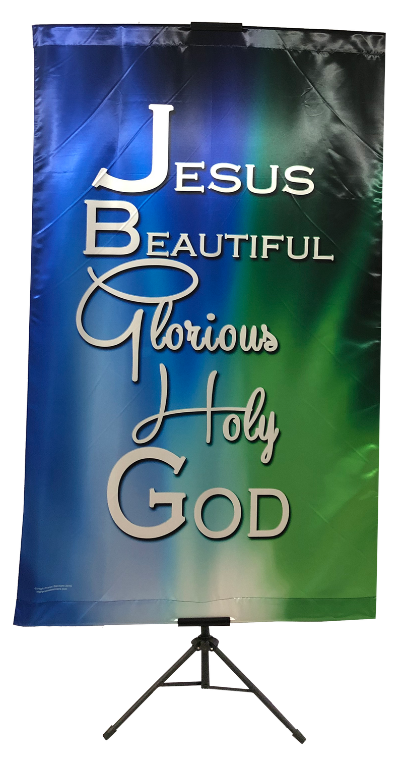 Jesus Beautiful Glorious Wall Banner