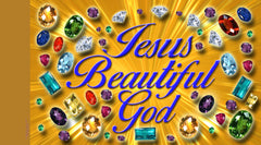 Jesus Beautiful God Worship Flag