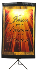 Jesus Your Presence Wall Banner