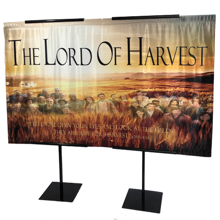 The Lord Of Harvest Horizontal Wall Banner