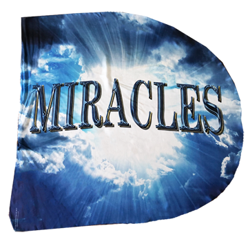 Miracles Wing Flag