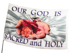 Our God is Sacred and Holy Worship Flag