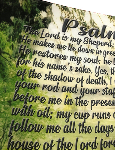 Psalm 23 Worship Flag