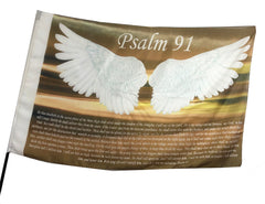Psalm 91 Worship Flag