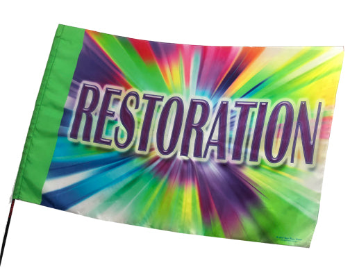 Restoration Worship Flag