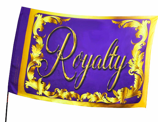 Royalty Collection Royalty Worship Flag