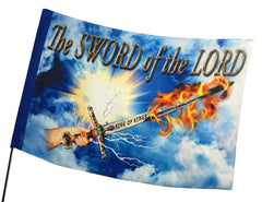 The Sword of the Lord Worship Flag