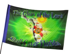 Glory of the Lord Shall Cover Florida Worship Flag