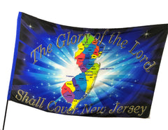 Glory of the Lord Shall Cover New Jersey Worship Flag