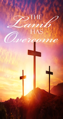 Resurrection Day - Jesus is Alive Forever (SET OF 2) Wall Banners