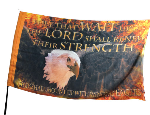 They That Wait Worship Flag