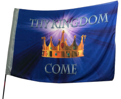 Thy Kingdom Come Worship Flag