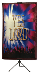 Yes Lord Vertical Banner