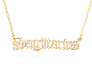 Sagittarius - Iced-Out Zodiac Necklace