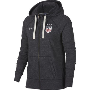 NIke USA Womens Vintage Zip Hoody