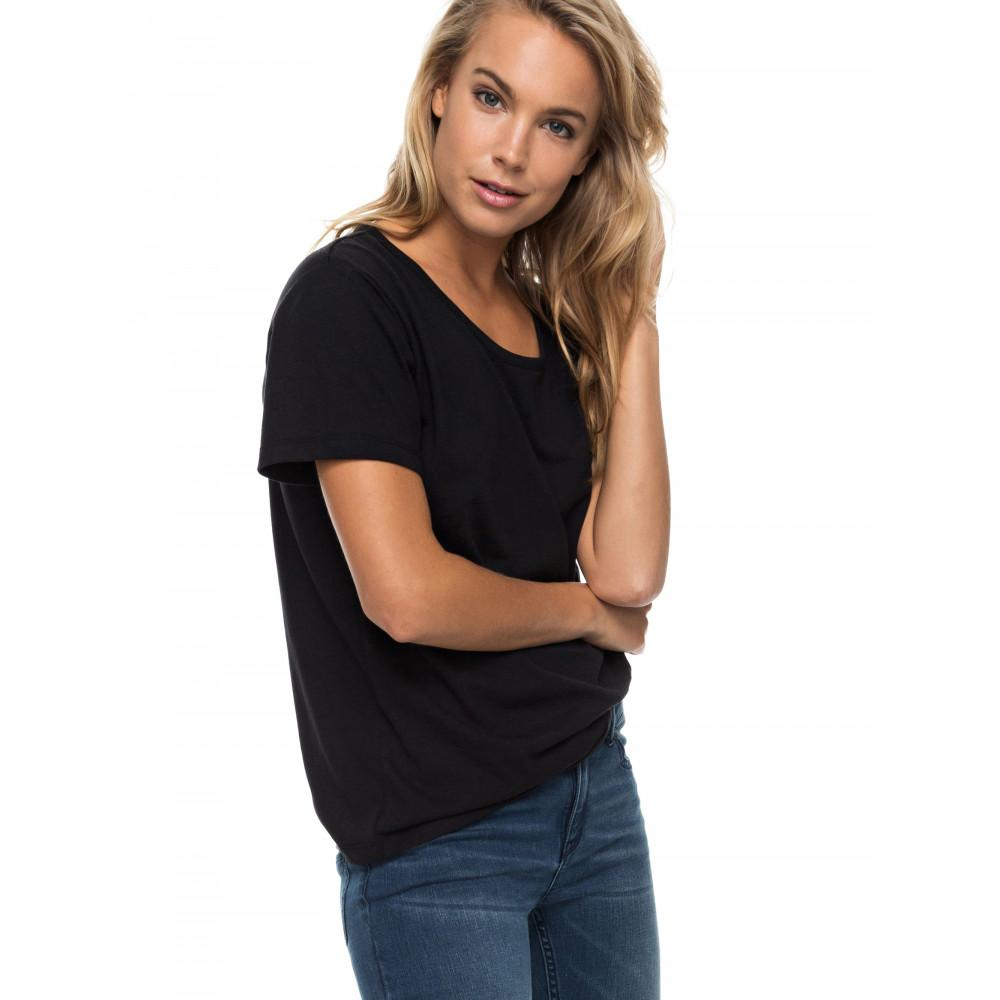 Roxy Just Simple Womens Solid T shirt