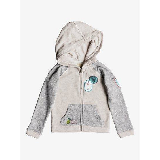 ROXY GIRLS FEELING BETTER ZIP UP HOODY
