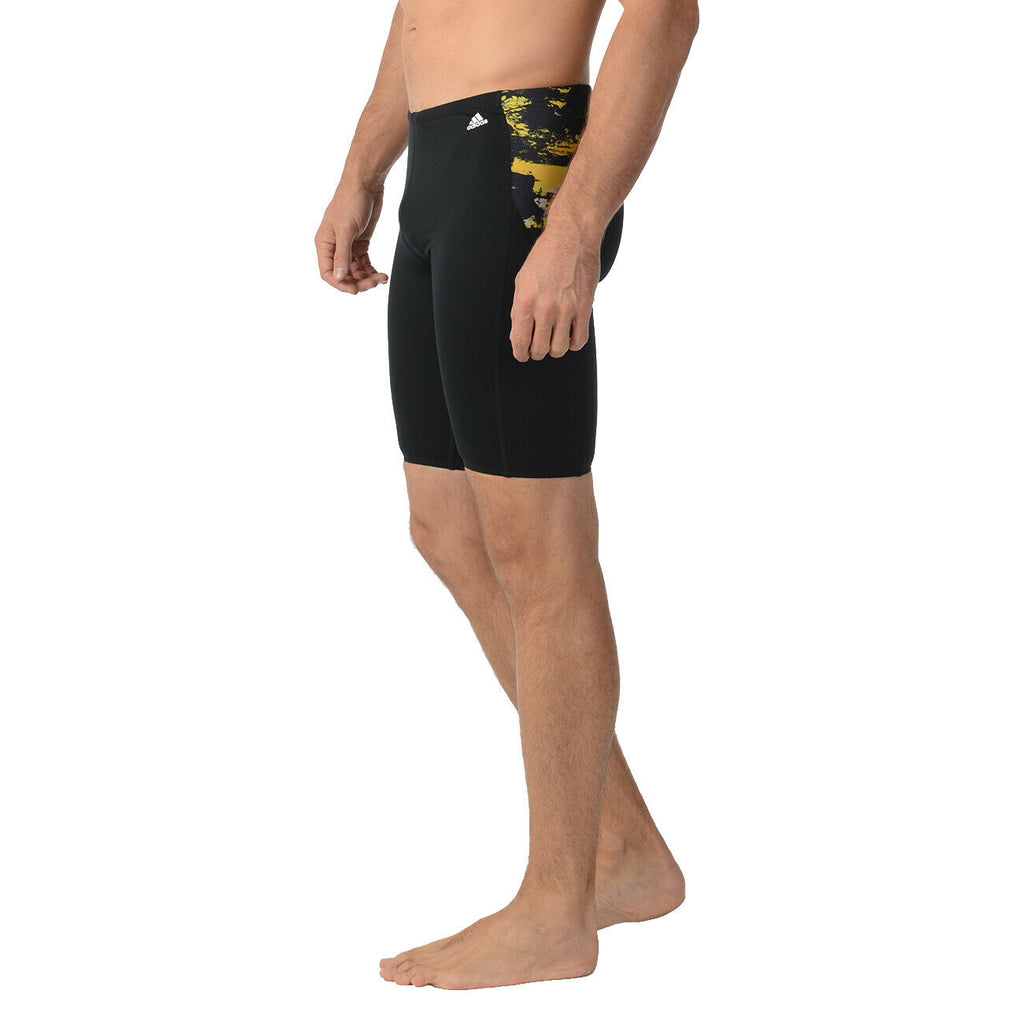 Adidas Mens ER Jammer Swim Boxer Trunks Shorts YELLOW