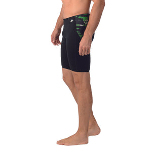 Adidas Mens ER Jammer Swim Boxer Trunks Shorts GREEN