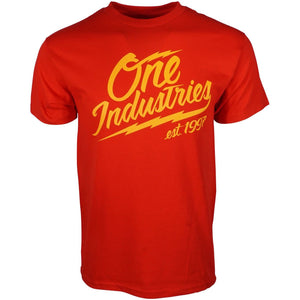 One Industries Mens Rolling Thunder T shirt