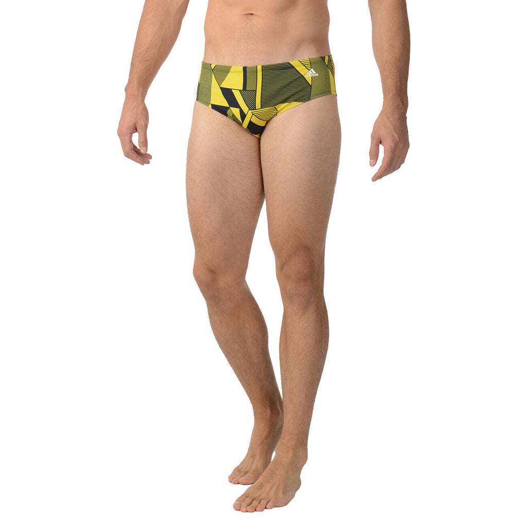 ADIDAS SPORT DNA SWIM BRIEF BOYS YOUTH TEENS SIZE YELLOW