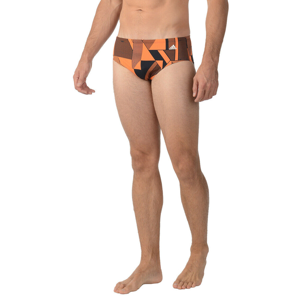 ADIDAS SPORT DNA SWIM BRIEF BOYS YOUTH TEENS SIZE ORANGE