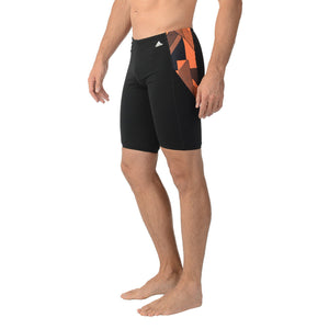 ADIDAS SPORT DNA SWIM BOXER TRUNK BOYS YOUTH TEENS SIZE BLK/ORANGE