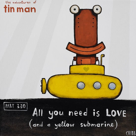 All You Need is Love - Paper Print - Tin Man