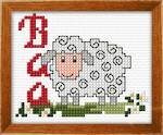 Load image into Gallery viewer, Kid's Cross Stitch Kit - Sheep