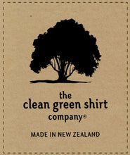 Load image into Gallery viewer, The Clean Green Shirt Co. Logo