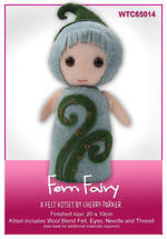 Load image into Gallery viewer, NZ Flora & Fauna Felt Kits - Fern Fairy