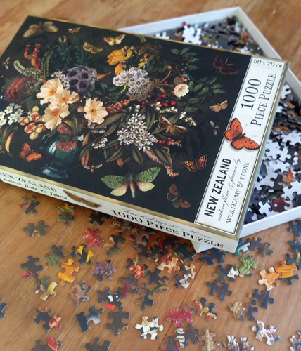 NZ Native Flora and Fauna Jigsaw Puzzle