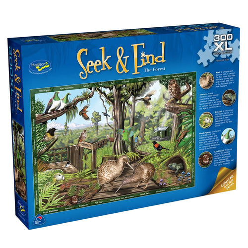 Seek & Find Forest Puzzle - 300 pieces - XL