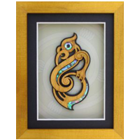 Framed Manaia Wall Art