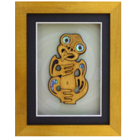 Framed Tiki Wall Art