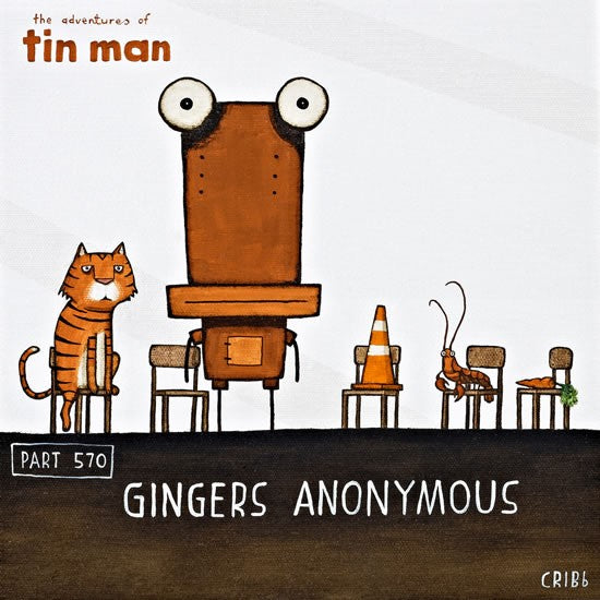 Gingers Anonymous - Paper Print - Tin Man