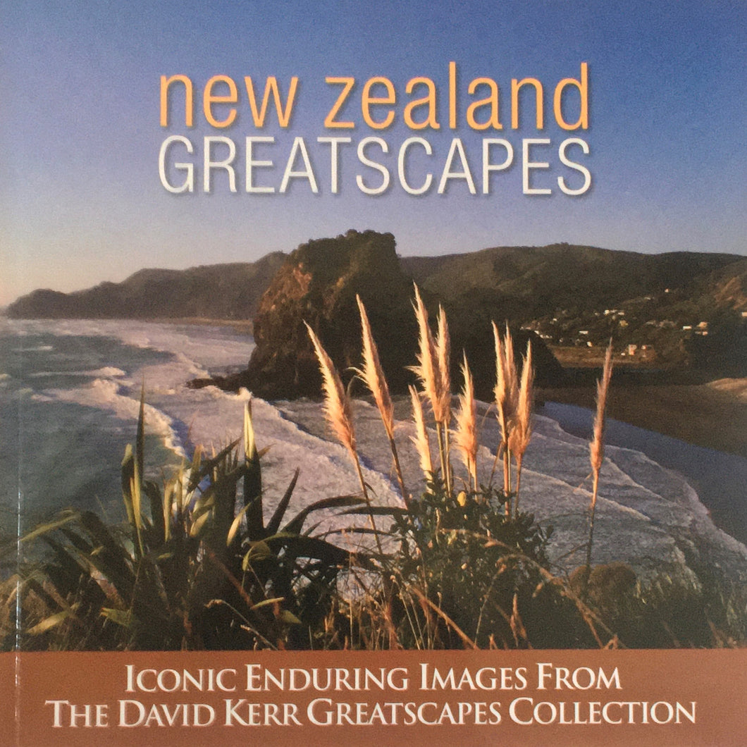 New Zealand Greatscapes - David Kerr - Paperback