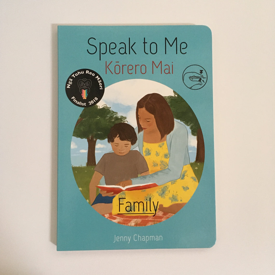 Speak to Me - Korero Mai - Family Book