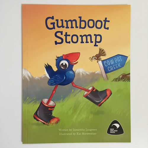 Gumboot Stomp Kid's Book