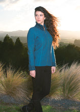 Load image into Gallery viewer, Two Tone Zip Jacket - Pacific