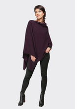 Load image into Gallery viewer, Two Way Poncho in Grape