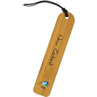 Load image into Gallery viewer, Bamboo Bookmark - Kiwi Motif
