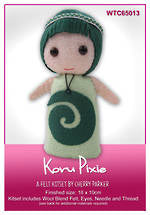 Load image into Gallery viewer, NZ Flora & Fauna Felt Kits - Koru Pixie