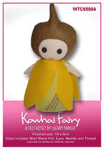 Load image into Gallery viewer, NZ Flora & Fauna Felt Kits - Kowhai Fairy