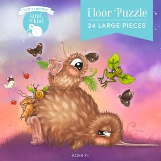 Kuwi the Kiwi Floor Puzzle - 24 pieces